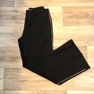 Lafayette 148 stripped wide leg dress pant career